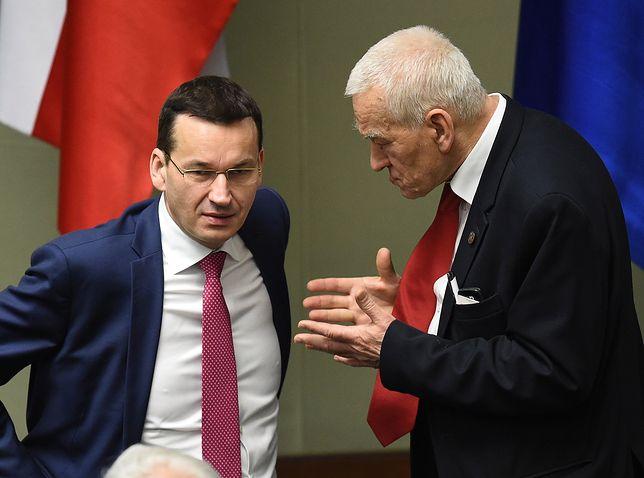 Mateusz Morawiecki wspina się po szczeblach w PiS. Ale zmiana lidera to dziś abstrakcja