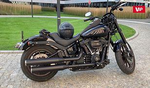 Harley-Davidson Low Rider S – klasyka cała na czarno