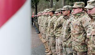 Żołnierze amerykańskiej Pancernej Brygadowej Grupy Bojowej w Żaganiu.
