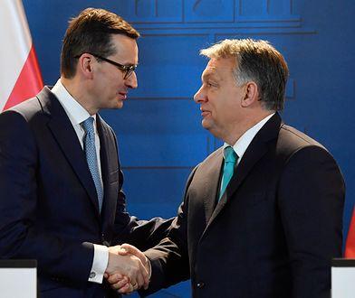 Premier Mateusz Morawiecki zabiegał o poparcie Orbana m.in. podczas styczniowej wizyty w Budapeszcie