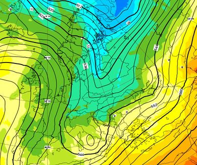 Znowu mamy pecha, świeża dostawa arktycznego powietrza w pierwszy dzień wiosny