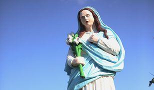 Trwają poszukiwania osób, które sprofanowały figurki Matki Boskiej.
