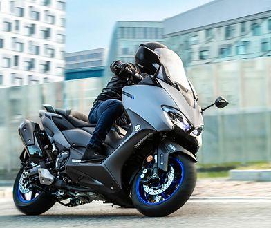 Yamaha szykuje hybrydowy skuter. Ale silnik spalinowy nie będzie go napędzał
