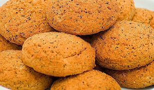 Ciasteczka owsiane z czarnuszką
