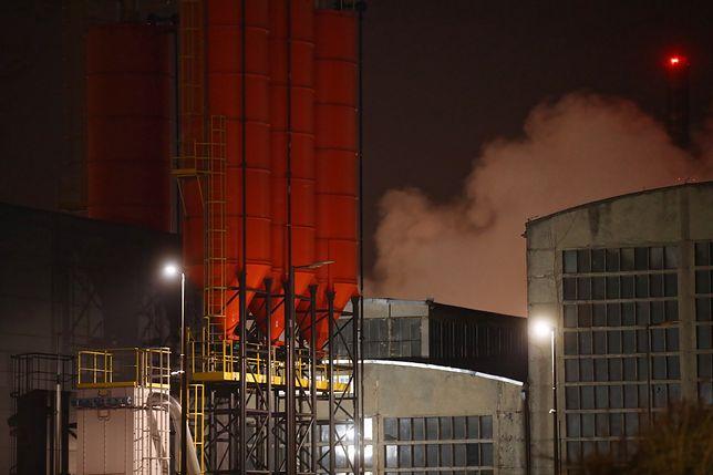 Pożar w zakładach chemicznych Synthos w Oświęcimiu