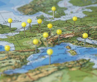 """Lista 20 """"problematycznych"""" krajów. Ankietowani mieli problem, aby je pokazać na mapie"""