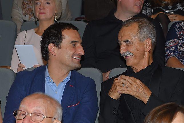 Michał Koterski i jego ojciec pracowali razem na planach filmowych