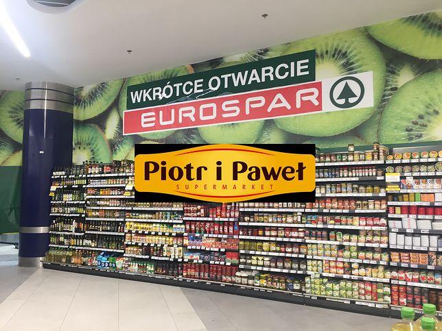 Eurospar wkrótce zastąpi supermarkety sieci Piotr i Paweł.