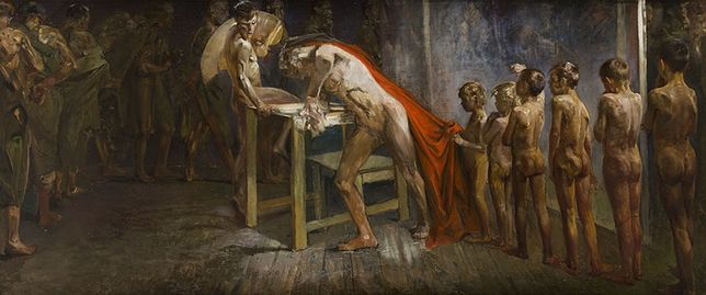 Niewidziany przez 80 lat obraz Malczewskiego na aukcji. Jest wart około milion złotych