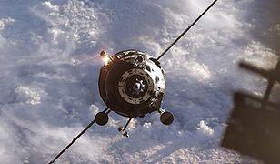 Progress M 12-M widziany z pokładu ISS - zdjęcie ilusttracyjne