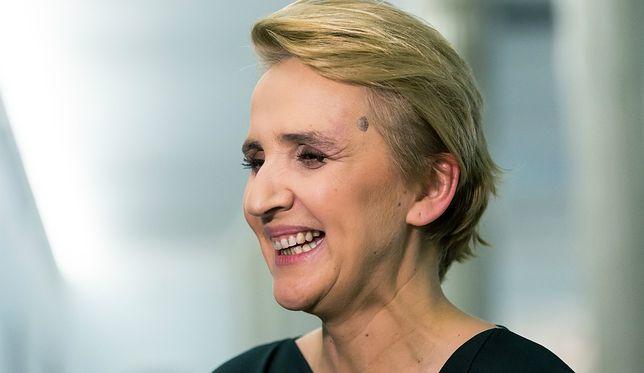 Scheuring-Wielgus ogłosiła rano odejście w partii
