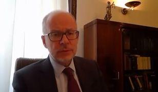 Strajk przedsiębiorców. Jacek Trela krytykuje działania policji