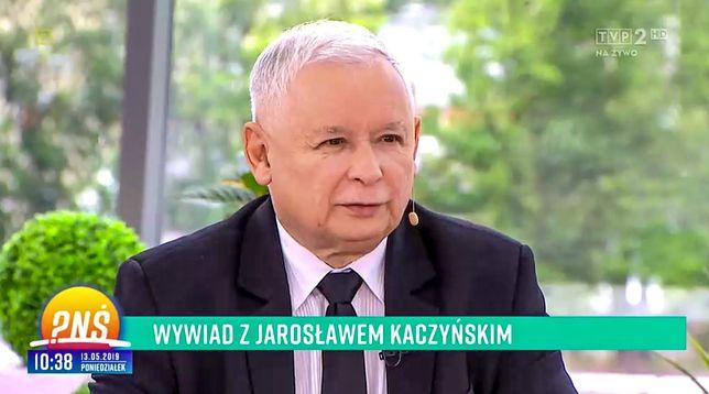 Jarosław Kaczyński w telewizji śniadaniowej