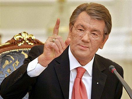 Prezydent Juszczenko rozwiązał parlament na Ukrainie