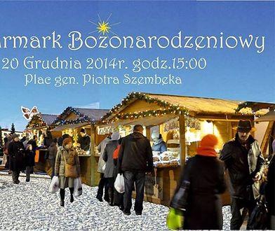 Jarmark Bożonarodzeniowy na placu Szembeka