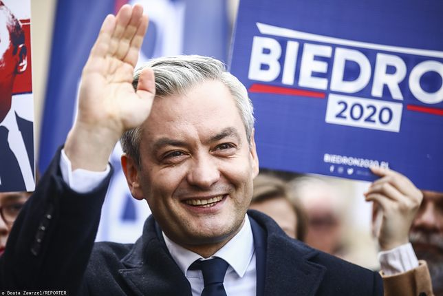 Wybory prezydenckie 2020. Robert Biedroń - kandydat Lewicy na prezydenta (zdj. arch.)