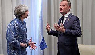 Kolejne próby porozumienia się Theresy May i Donalda Tuska niewiele zmieniają