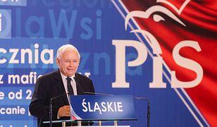 Prezes Prawa i Sprawiedliwości Jarosław Kaczyński nie wyklucza koalicji z SLD.