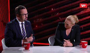 Wybory parlamentarne 2019. Barbara Nowacka i Marcin Horała starli się w studiu. Poszło o VAT