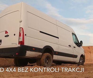 Renault Master 4x4 Oberaigner - prezentacja i test napędu na cztery koła