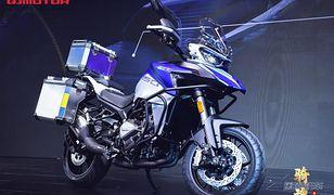 QJ Motors SRT 750 to nowa propozycja z Chin w segmencie turystyków