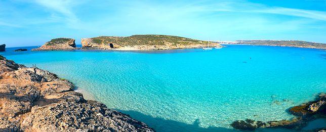 Atrakcje Malty - Blue Lagoon, Comino