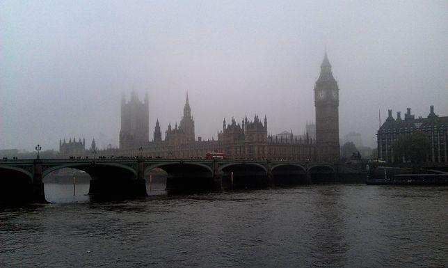Rekordowo gęsty smog nad Wielką Brytanią