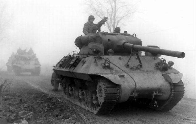 Bitwa o Ardeny - ostatnia ofensywa Hitlera