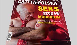 """Sikora: """"Gazeta Polska"""" fotomontażem uderza w Niesiołowskiego. """"Seks, szczaw, mirabelki"""" [Opinia]"""