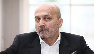 """Marcinkiewicz: """"Niesiołowski to prawy człowiek. Nie zna się na biznesie, wszystkim chce pomagać"""""""