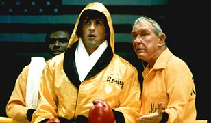 "Sylvester Stallone w filmie ""Rocky 2"""
