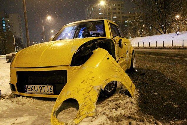 Prototyp Syreny rozbity w Warszawie [GALERIA]