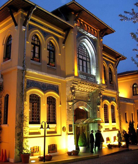 Drugie życie dawnych więzień - hotel Four Seasons Sultanahmet, Stambuł, Turcja