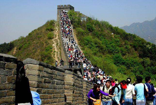 Zagrożone atrakcje turystyczne - Wielki Mur Chiński
