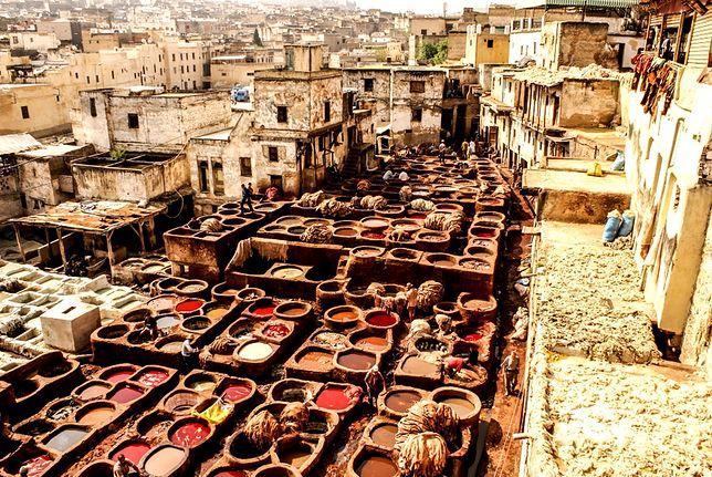 Miasta Maroka wprost kipią żywymi kolorami