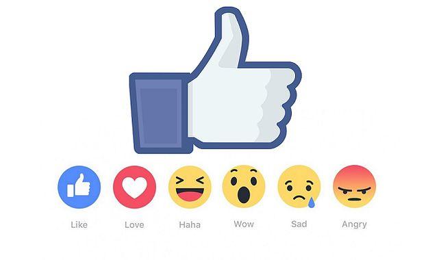 """Od dzisiaj nie tylko """"Lubię to!"""" - na Facebooku pojawiło się sześć nowych przycisków"""
