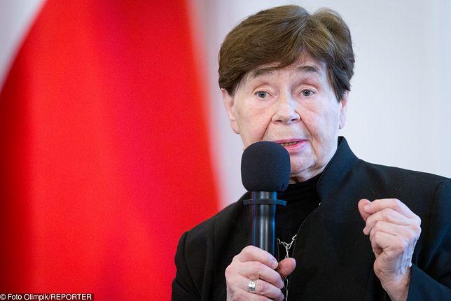 Zofia Romaszewska twierdzi, że prezydent Andrzej Duda zaproponował zbyt wiele pytań do referendum