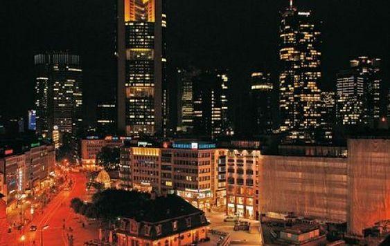 Frankfurt. Wioska przy lotnisku