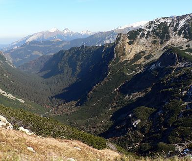 Dolina Roztoki to odgałęzienie Doliny Białki