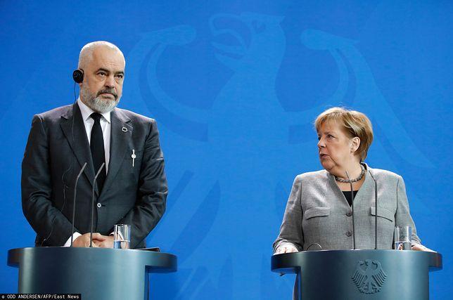 Rozmowy akcesyjne z Albanią i Macedonią Północną. Angela Merkel deklaruje wsparcie