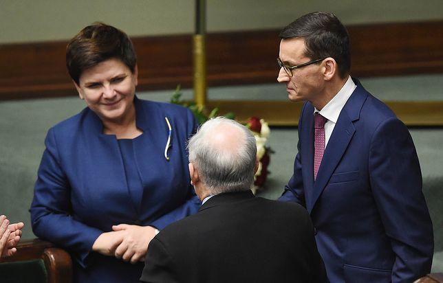 Na stanowisku premiera Beatę Szydło zastąpił Mateusz Morawiecki