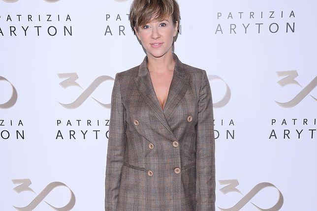 Katarzyna Ankudowicz w modnej jesiennej stylizacji