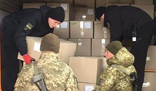Koronawirus. Ukraina. Mężczyzna próbował przemycić do Polski maseczki ochronne
