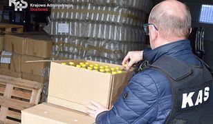 Koronawirus w Polsce. Alkohol z przemytu zostanie wykorzystany do dezynfekcji. Źródło: IAS w Olsztynie.