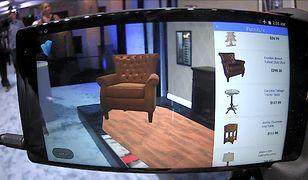 Rozszerzona rzeczywistość pozwala oglądać wirtualne obiekty w prawdziwym świecie