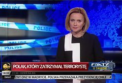 """TVN24 BiS: Jolanta Pieńkowska poprowadziła nowe wydanie """"Faktów o świecie"""""""
