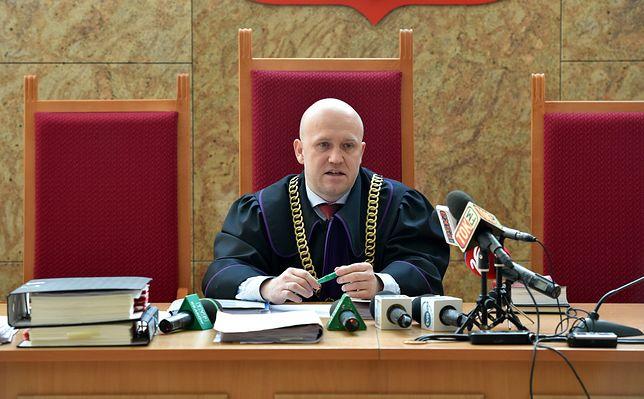 Sędzia Dariusz Mazur orzeka w Sądzie Okręgowym w Krakowie