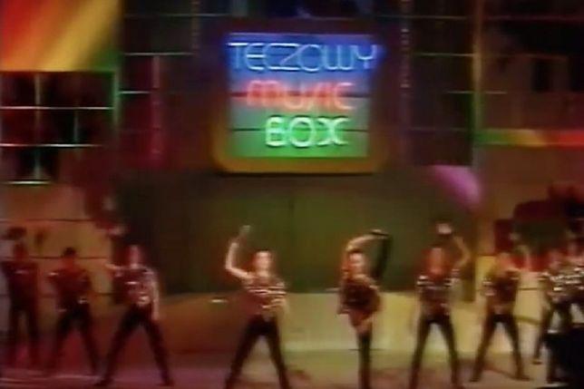"""Krzysztof Sadowski był związany z programem """"Tęczowy Music Box""""."""