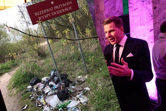 """""""Syfilizm"""" nad Wisłą. Rezerwat przyrody jak śmietnik"""