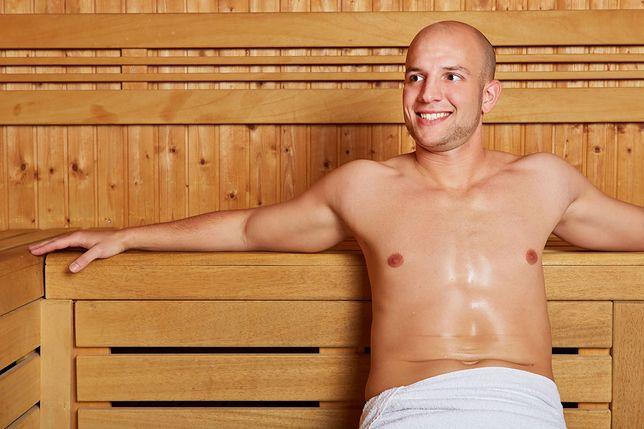 Piękne panie i sauna - marzenie każdego mężczyzny?